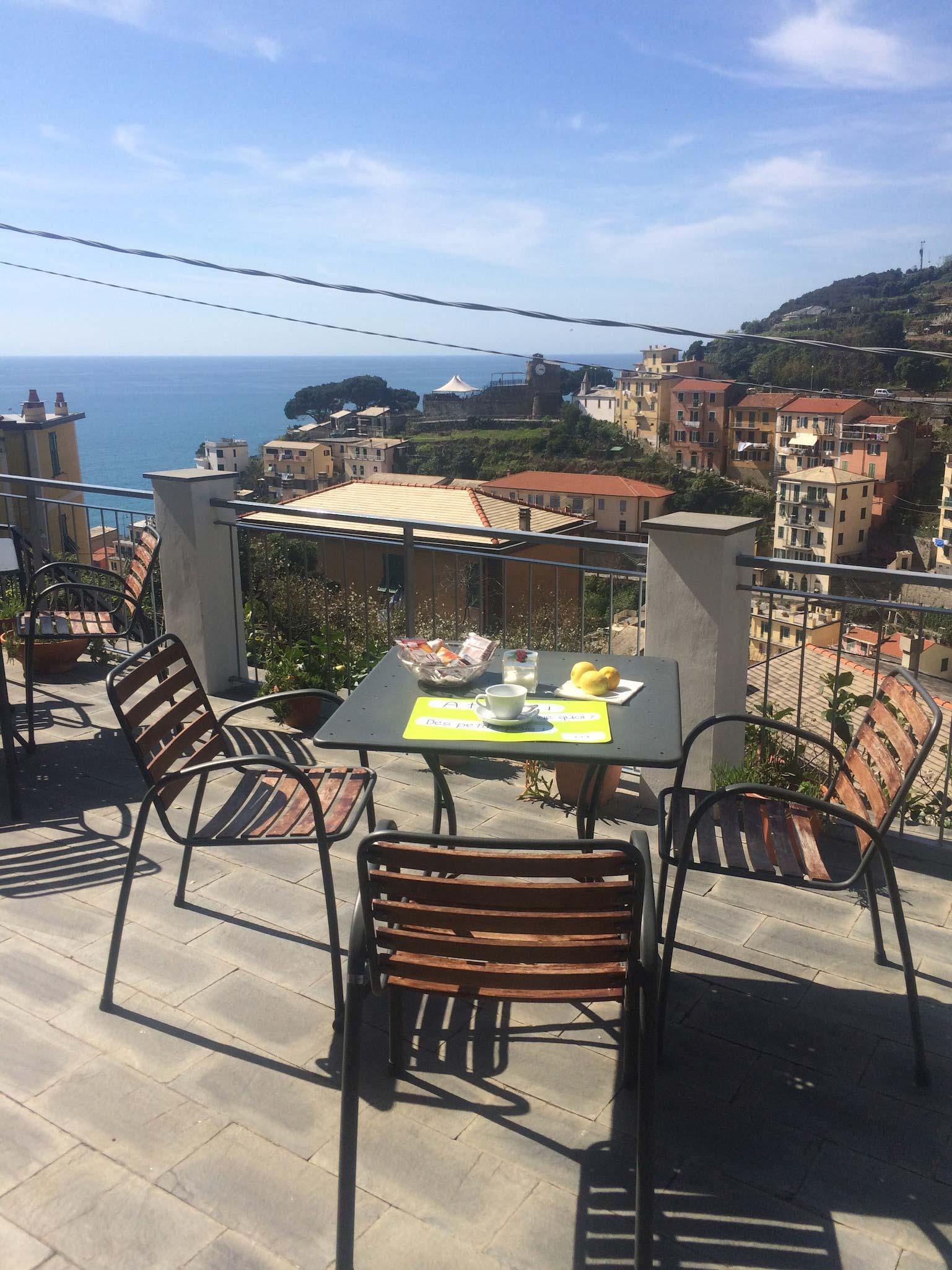 La terrazza B&B in Cinque Terre - Riomaggiore accommodation